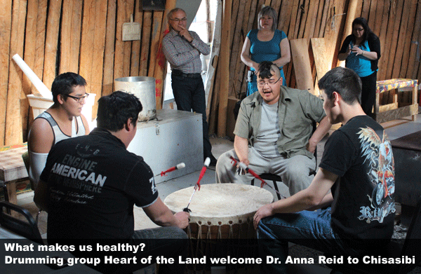 Heart of the Land welcome Anna Reid to Chisasibi