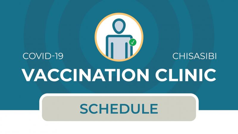 COVID-19 vaccination schedule for Chisasibi