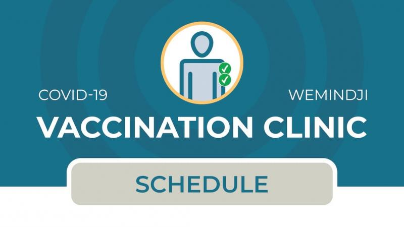 Vaccination clinic in Wemindji (2nd dose)