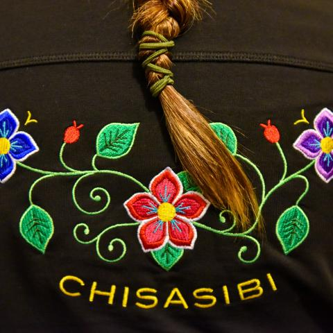 Detail of Chisasibi jacket
